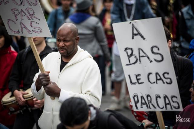 Le Comité d'action des personnes sans statut (CAPSS)... (PHOTO OLIVIER PONTBRIAND, ARCHIVES LA PRESSE)