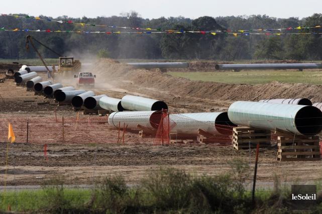 La loi prévoit que la construction d'un oléoduc... (Photothèque Le Soleil)