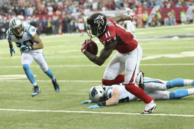Julio Jones... (Photo John Bazemore, AP)