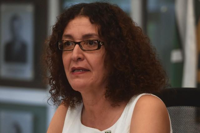 L'ex-rectrice de l'UQTR, Nadia Ghazzali.... (François Gervais)