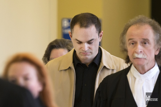Guy Turcotte lors du second procès.... (Photo d'archives La Presse)