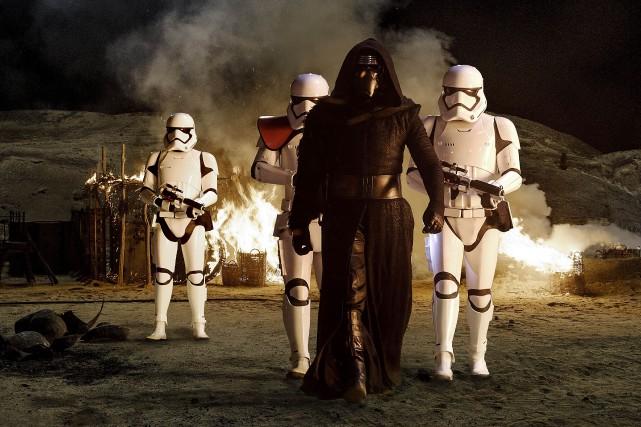 «Star Wars: le réveil de la force»est devenu... (PHOTO FOURNIE PAR LUCASFILM)