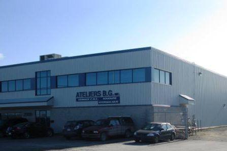 L'usine d'Ateliers B.G. rue Longpré dans le Parc... (Photo fournie)