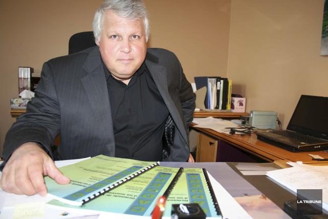 L'ancien directeur général du Cégep de Victoriaville Vincent... (Photo La Tribune, Yanick Poisson)