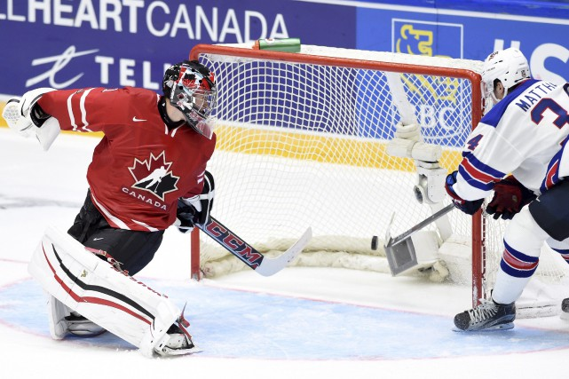 Mason McDonald et le Canada se sont inclinés... (La Presse Canadienne)