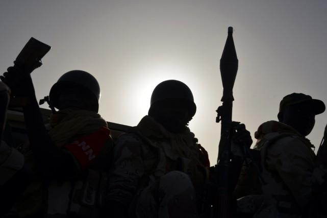 Les opérations de l'armée camerounaise se sont déroulées... (Photo AFP)