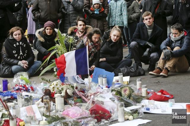 Les attentats de Paris du 13 novembre ont... (Archives La Presse)