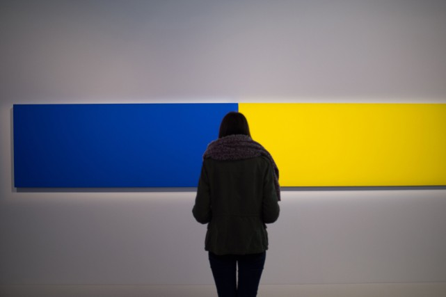 Mort du peintre sculpteur minimaliste ellsworth kelly for Courant minimaliste