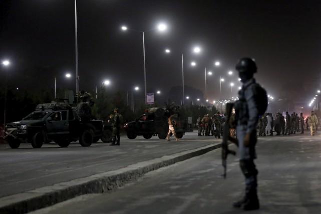 Un civil a été tué et quatre autres blessés dans un attentat suicide à la... (Photo archives Reuters)