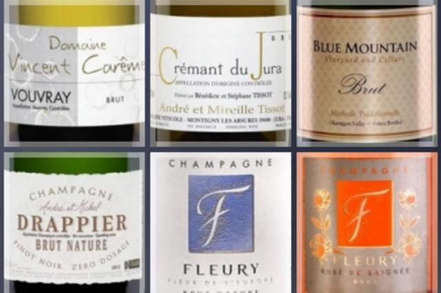 Du cava au Canada, sans oublier un grand classique de Champagne, aux côtés de...