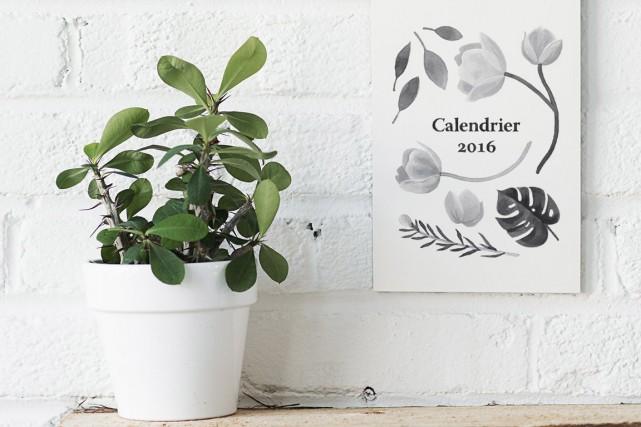 Avez-vous vos calendriers pour 2016? Il y a bien sûr les calendriers sur les... (Photo fournie par Trois fois par jour)