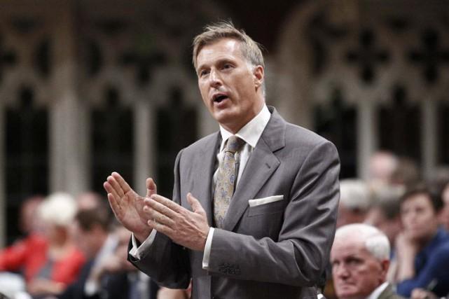 Le député conservateur Maxime Bernier, qui a présenté... (PHOTO ARCHIVES LA PRESSE CANADIENNE)