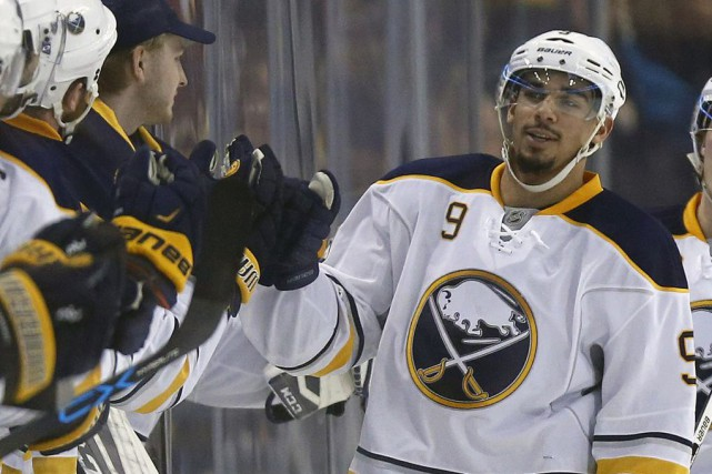 Evander Kane... (Photo Michael Dwyer, archives AP)