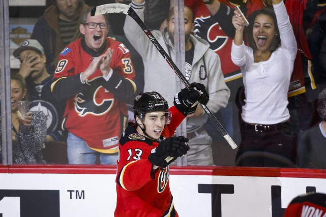 Johnny Gaudreau... (Photo Jeff McIntosh, PC)
