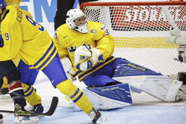 Linus Soderstrom... (Photo Roni Rekomaa, Reuters)