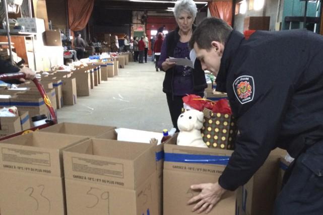 Les opérations de la Guignolée et des paniers de Noël de 2015 ont encore été... (fournie par le Centre d'action bénévole de St-Césaire)