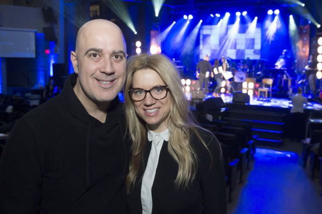 Jean-Francois Blais et Isabelle Viviers.... (Stéphane Lessard)