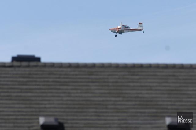 Un avion léger Cessna, du même genre qui... (Photo Martin Chamberland, archives La Presse)