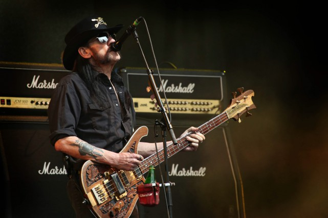 Ian «Lemmy» Kilmister, est mort d'un cancer à... (Photo archives AP)