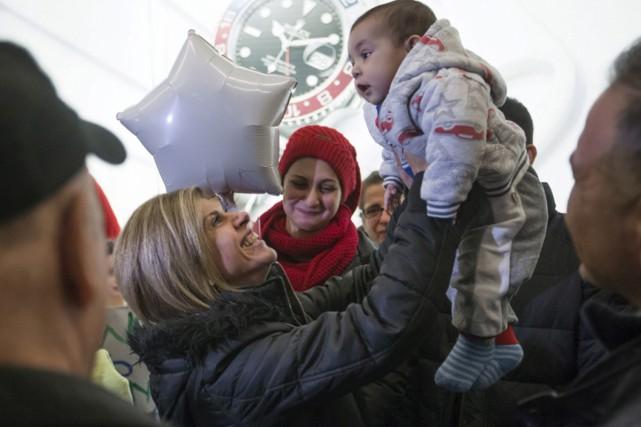 Mohammed Kurdi, son épouse et leurs cinq enfants... (Associated Press)