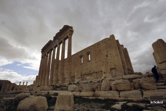 Des répliques de l'arche du temple de Bêl... (Photothèque Le Soleil)