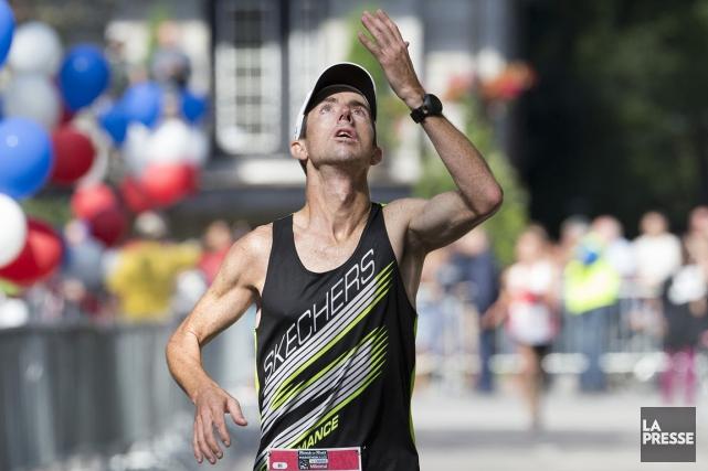 Nicholas Berrouard a raflé les honneurs du Marathon... (La Presse)