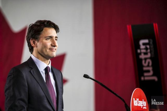 Les libéraux se sont empressés de marquer une... (Hugo-Sébastien Aubert, Archives La Presse)