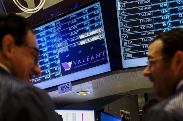 Nouveau coup dur pour Valeant. Durement éprouvée en 2015, la multinationale... (Photo Reuters)
