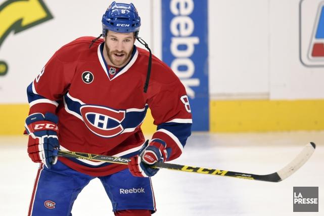 Brandon Prust a été échangé du Canadien aux... (La Presse)