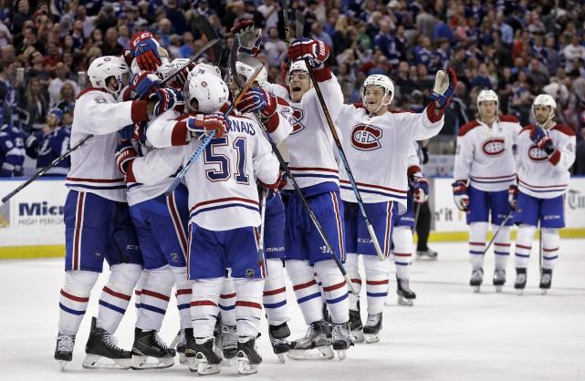 Le Canadien a enfin renoué avec la victoire,... (AP, Chris O'Meara)