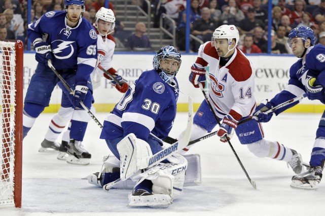 Tomas Plekanec a marqué le premier but du... (Associated Press)