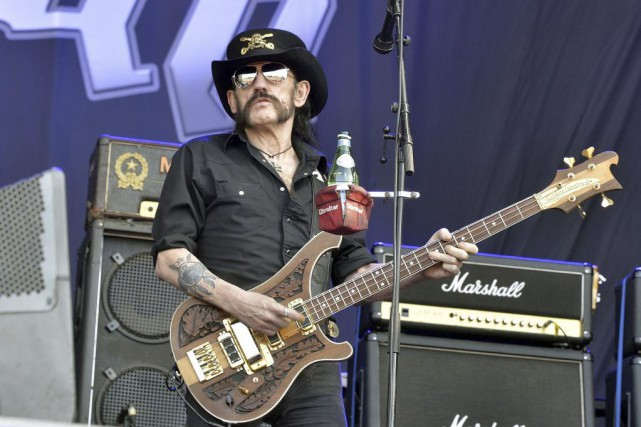 «Motörhead, c'est fini, c'est clair. Lemmy incarnait Motörhead»,... (PHOTO GEORGES GOBET, ARCHIVES AFP)