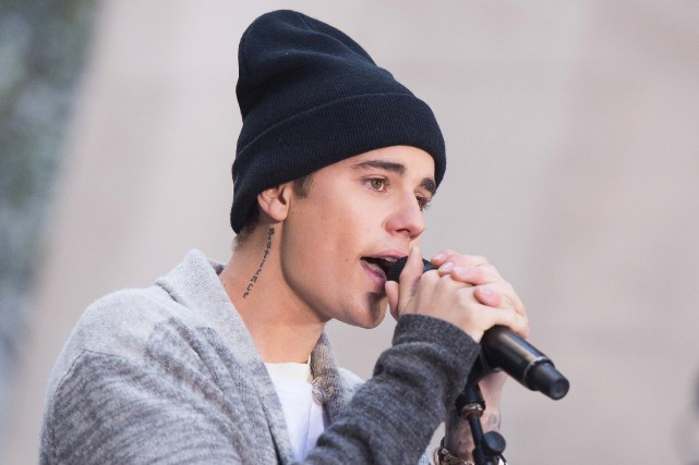 Le chanteurJustin Bieber... (PHOTOCHARLES SYKES, ARCHIVES ASSOCIATED PRESS)