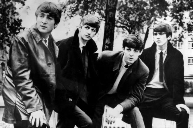 Les 224 chansons des Beatles, rendues accessibles aux... (Photo archives Associated Press)