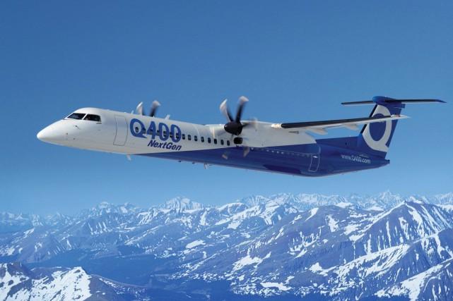 SpiceJet s'est engagé à acheter 25 avions Q400... (Photo fournie par Bombardier)