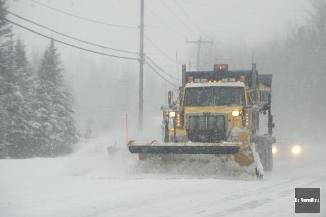 Parmi les régions qui vivront une «tempête hivernale»,... (Photo: Sylvain Mayer Le Nouvelliste)