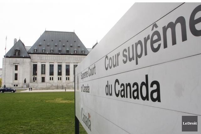 La Cour suprême du Canada a tranché cette... (Photo Archives Le Droit)