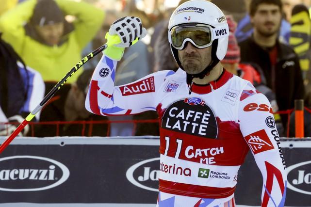 Le Français Adrien Théaux a gagné une descente... (Associated Press)