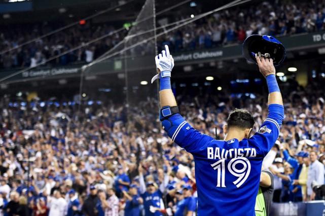 Jose Bautista et les Blue Jays ont insufflé... (Archives La Presse Canadienne)