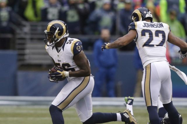 Les Rams (photo), les Raiders d'Oakland et les... (Archives Associated Press)