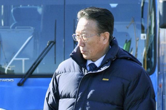 Diplomate de carrière au sein du parti, Kim... (Photo archives AP)