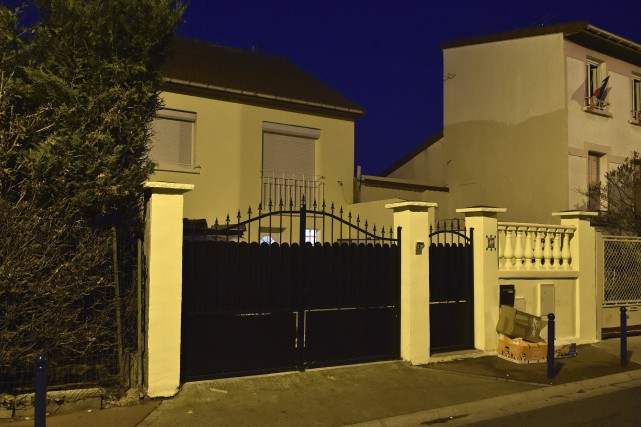 La maison de la famille Charaffe al Mouadan... (AFP, Alain Jocard)