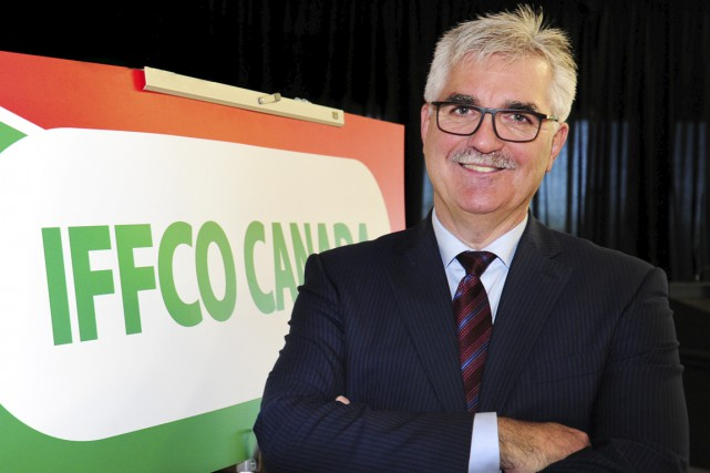 Claude Lafleur, chef de la direction d'IFFCO.... (Andréanne Lemire)