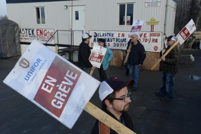 Alors que le Conseil québécois d'Unifor a lieu à Trois-Rivières pendant trois... (Sylvain Mayer)