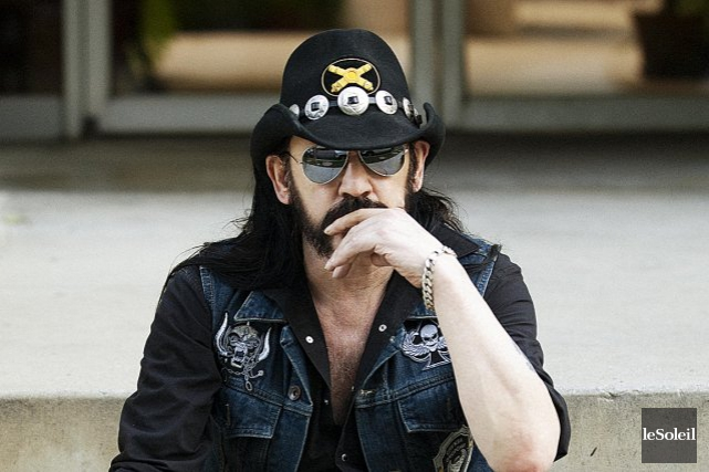 Ian «Lemmy» Kilmister, chanteur et bassiste de Motörhead,... (Photothèque Le Soleil)