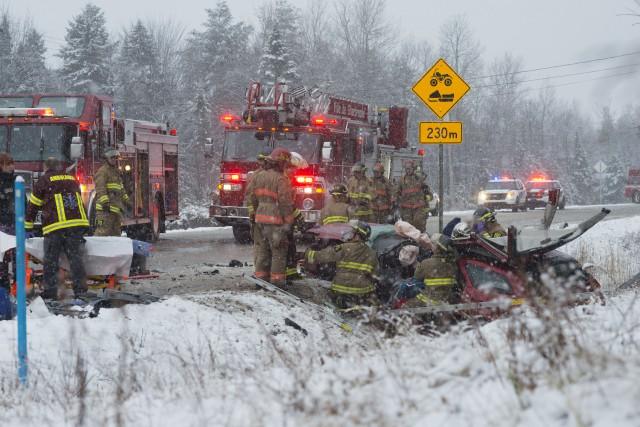 L'accident qui a coûté la vie à Mélissa... (Spectre Média, Julien Chamberland)