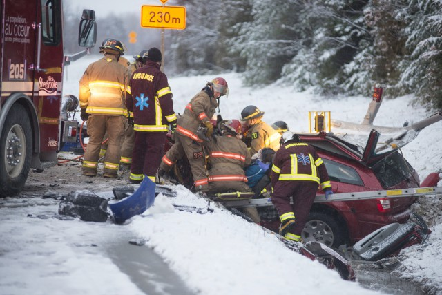 Le plus récent accident mortel est survenu sur... (Spectre Média, Julien Chamberland)