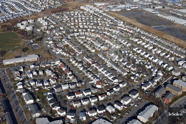Selon l'auteur, l'étalement urbain est un gouffre financier.... (Photothèque Le Soleil, Yan Doublet)