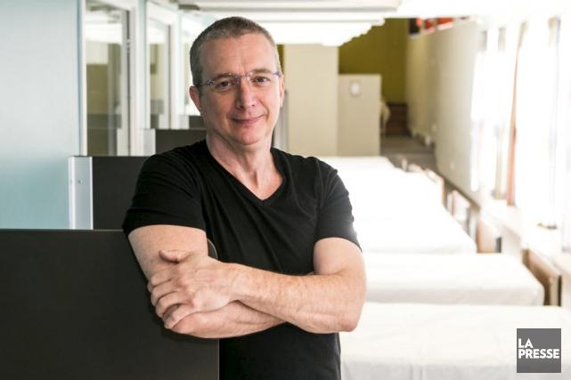 Dan Bigras reste fidèle au Refuge.... (La Presse, Hugo-Sébastien Aubert)