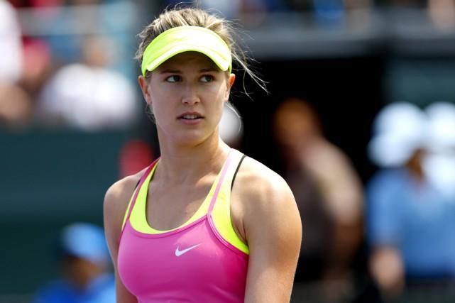 La saison passablement difficile d'Eugenie Bouchard s'est terminée... (WTA)
